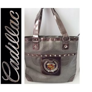 NWOT Cadillac Zippered Tote Purse